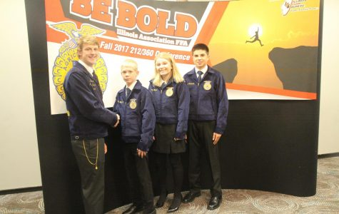 RED BUD FFA CHAPTER ATTEND 212° CONFERENCE