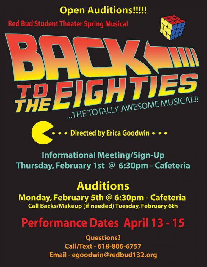 Back To The Eighties: The Totally Awesome Musical