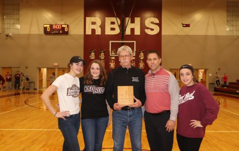 Ringering Honored @ RBHS Game