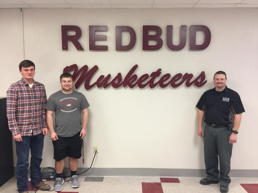 Students Decorate School Office