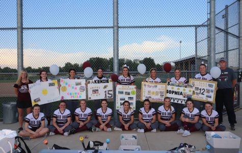 Softball Team Ends Last Full Week of School 2-2