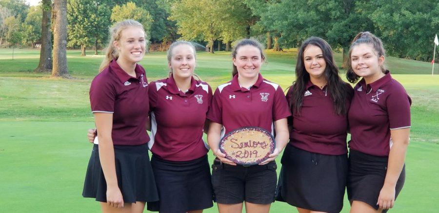 Girls' Golf Celebrates Seniors