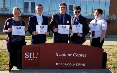 RBHS FBLA Members Score Well at Area Conference