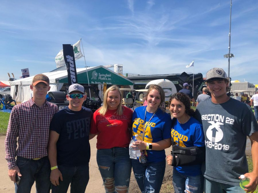 FFA Attends Farm Progress Show