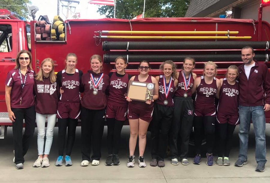 Cross Country Ladies Bring Home Conference Championship