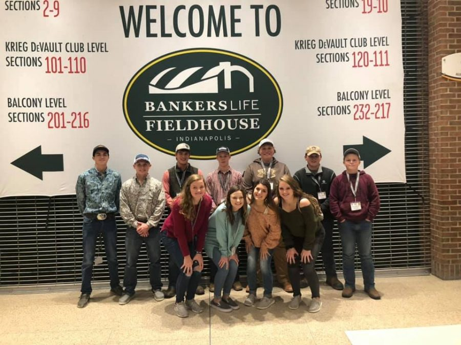 FFA Attends Old Dominion Concert at Convention