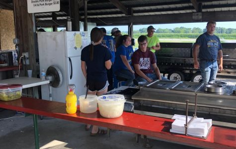 RBHS FFA Works Pork Producer Stand @ Monroe County Fair