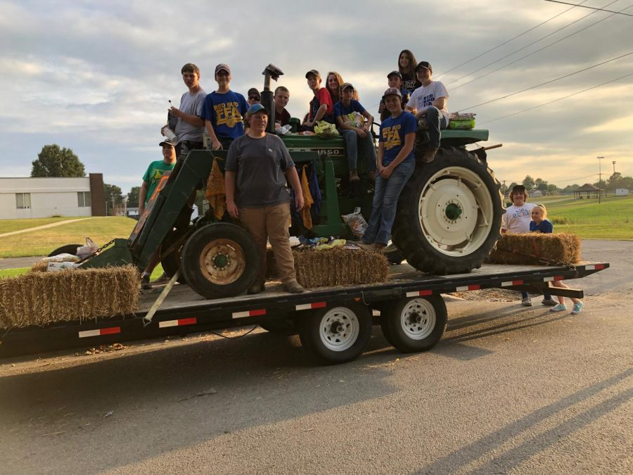 2019 FFA Parade Float