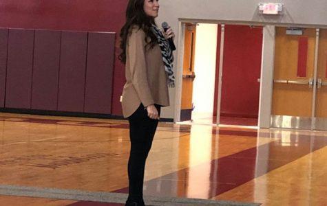 Motivational Speaker Cara Filler Encourages Smart Choices