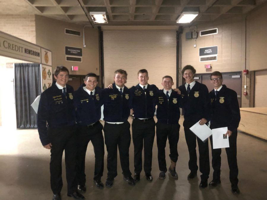 FFA+Attends+State+Convention