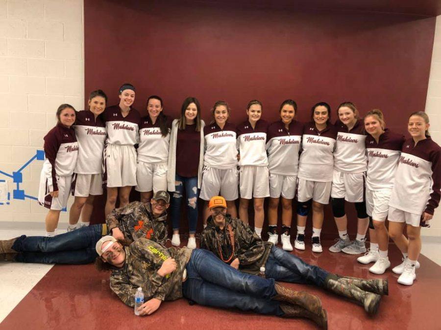 Red Bud Girls' Basketball Wins Season Opener @ Home