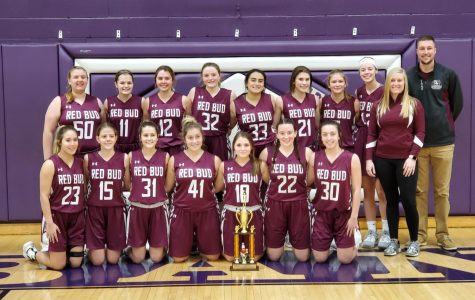 Red Bud Lady Musketeers Win Consolation Championship @ Lebanon Tourney
