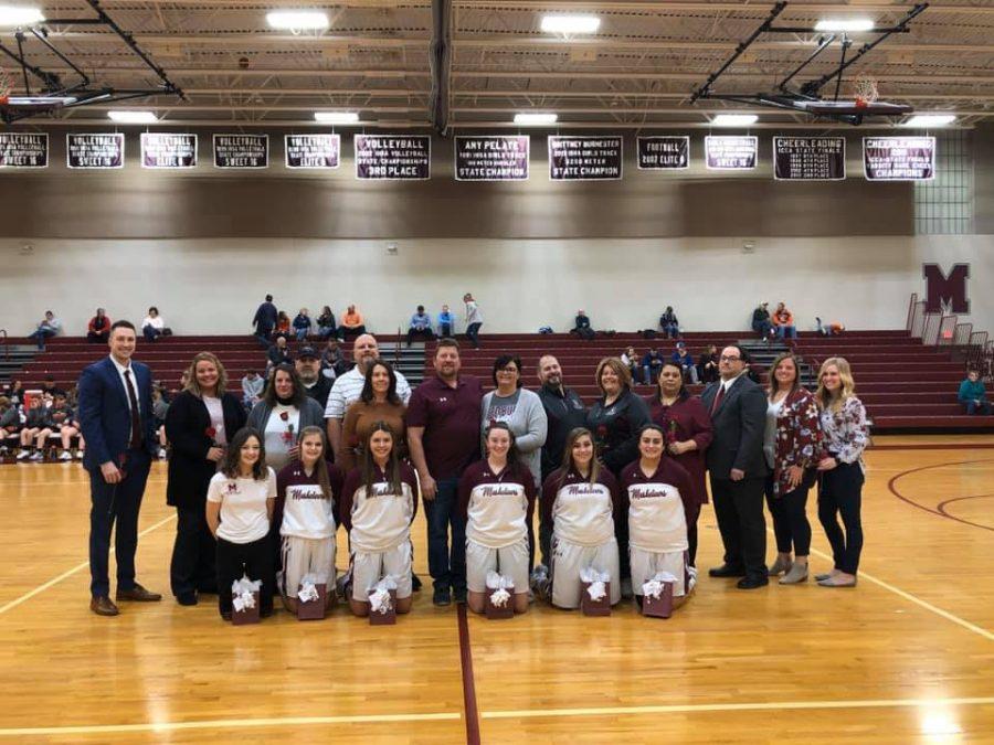 RBHS Girls' Basketball Senior Night