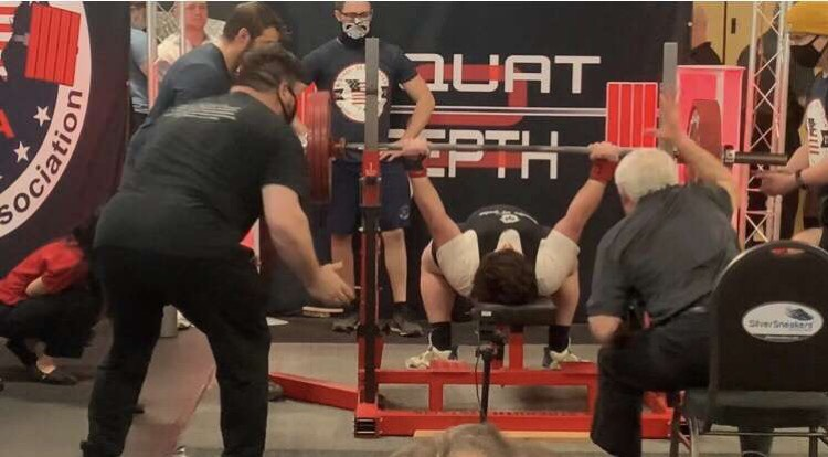 McDill Sets State and National Records at Powerlifting Event