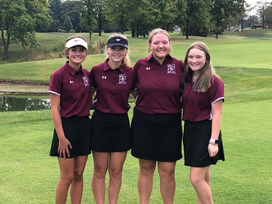 The Girls Golf Team Tees Up a Great Season